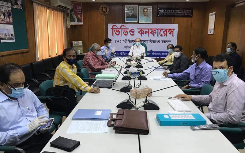'করোনার ক্ষতি থেকে উত্তরণে কাজ করছে পল্লী উন্নয়ন বিভাগ'