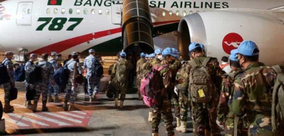 মধ্য আফ্রিকান রিপাবলিকে বিমান বাহিনীর শান্তিরক্ষা কন্টিনজেন্ট প্রেরণ