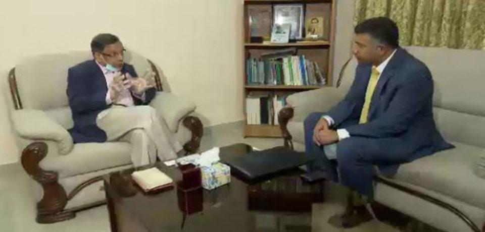বাংলাদেশ-ভারতের পারস্পারিক সহযোগিতা অব্যাহত রয়েছে: আইনমন্ত্রী