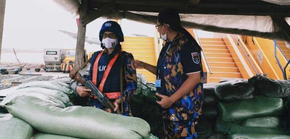 কঙ্গোর এয়ারপোর্ট সুরক্ষার দায়িত্বে বাংলাদেশের নারী পুলিশ