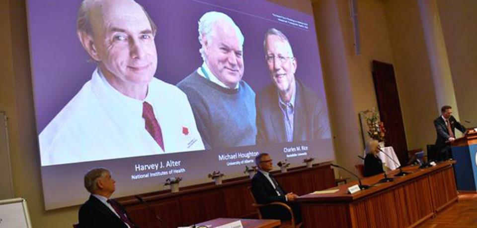 চিকিৎসায় নোবেল পেলেন হেপাটাইটিস সি ভাইরাসের তিন গবেষক