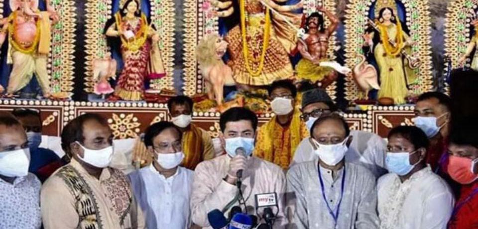 বাংলাদেশ অসাম্প্রদায়িকতার অনন্য উদাহরণ: তাপস