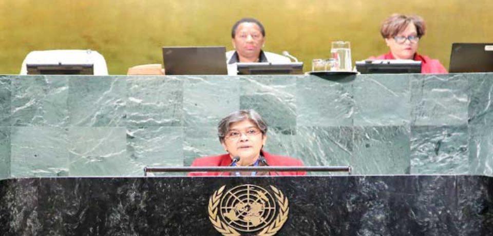 বাংলাদেশ উত্থাপিত 'শান্তির সংস্কৃতি' রেজুলেশন জাতিসংঘে গৃহীত