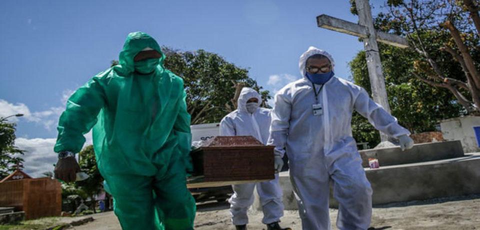 ব্রাজিলে করোনায় আরও ১৩৪৫ জনের মৃত্যু