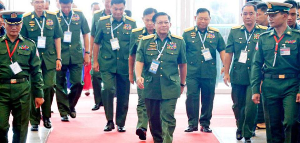 মিয়ানমার সেনাবাহিনীর নতুন সরকার ঘোষণা