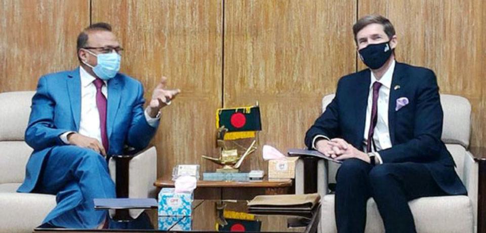 রোহিঙ্গা ইস্যুতে যুক্তরাষ্ট্র সবসময় বাংলাদেশের পাশে আছে: মার্কিন রাষ্ট্রদূত
