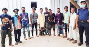 ব্রাহ্মণবাড়িয়ায় হামলা-ভাঙচুর, আরও ৩০ হেফাজতকর্মী গ্রেফতার