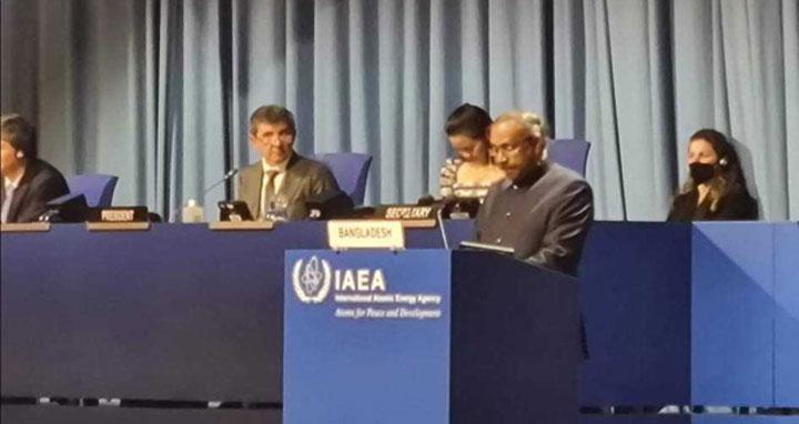 'সফলতার সঙ্গে শান্তিপূর্ণ পরমাণু কর্মসূচি বাস্তবায়ন করছে বাংলাদেশ'