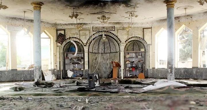 আফগানিস্তানে মসজিদে হামলার দায় স্বীকার আইএসের
